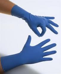 găng tay phòng sạch Nitrille